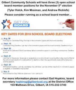 School Board Candidate Election
